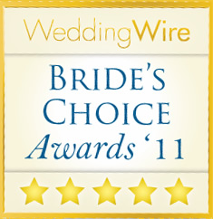 Wedding Wire Bride's Choice Award for Photography