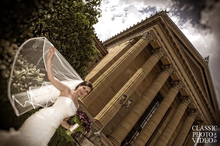 Philadelphia Museum of Art Wedding Photographer